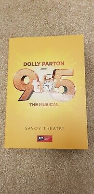 Dolly Parton's 9 to 5 The Musical theatre theater programme Savoy Theatre London