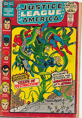 Justice League Of America #99 DC Comics 1970s G