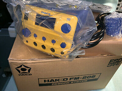 Hakko FM206-55 ESD-Safe Desoldering Rework Station 410 Watt FM-206 NEW OPEN BOX
