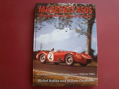 LIVRE MASERATI 450S THE FASTED SPORTS RACING CAR IN THE 50s BOOK