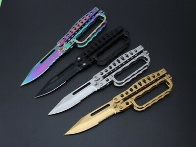 Coltello Super Butterfly Da 28 Cm Da Collezione Edc Balisong Benchmade Hunt