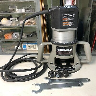Porter Cable Variable Speed Router Model 75182 with Router Base Model 75361