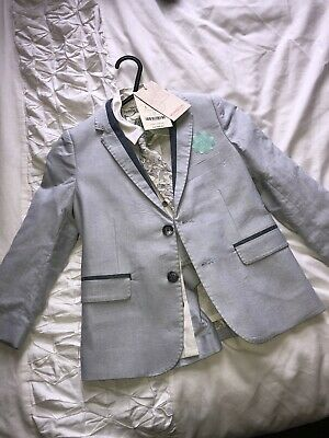 Monsoon Age 4 Boys Suit Brand New Page Boy