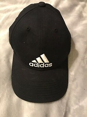Adidas Mens Womens Baseball Cap Sports Running Training Trefoil Black Hat OSFM