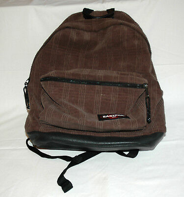 Velours Brun Corduroy Wyoming À Eastpak Dos Backpack Sac Brown wnqxYU8gHR
