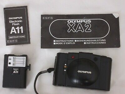 Olympus XA A11 35mm Compact Film Camera with 35 mm lens kit