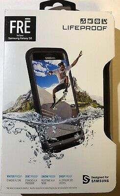 NEW SEALED Lifeproof FRE Waterproof Case for Samsung Galaxy S8 ONLY Black