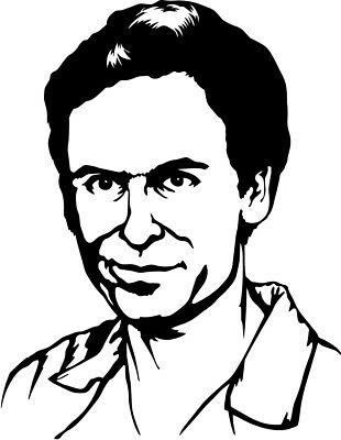 Ted Bundy Decal FREE US SHIPPING
