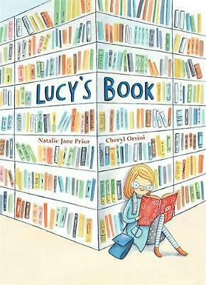 Lucy's Book by Natalie Jane Prior Hardcover Book Free Shipping!