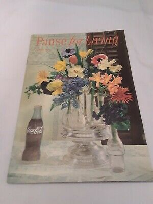 Pause For Living Coca Cola Booklet