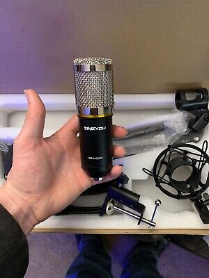 ZINGYOU Condenser Microphone Bundle, BM-800 Mic Kit with Adjustable Mic