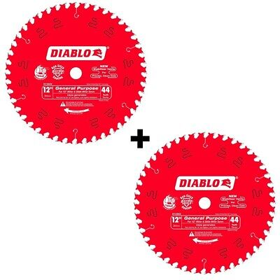 DIABLO 12 IN  44-Teeth Circular Saw Blades Cuts Wood General Purpose