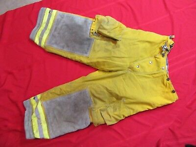 CAIRNS Turnout PANTS 34 x 24  FIREFIGHTER FIREMAN BUNKER GEAR GLOBE LION