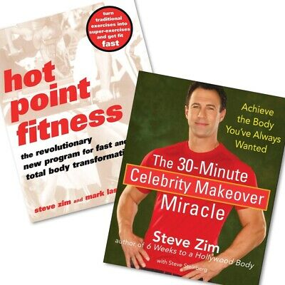 Steve Zim BUNDLE: Hot Point Fitness + 30 Minute Celebrity Makeover