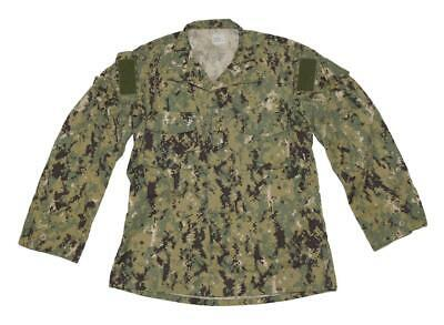 US Navy NWU Type III AOR2 Uniform Blouse Shirt - MED LONG - NSW SOF SEAL SWCC