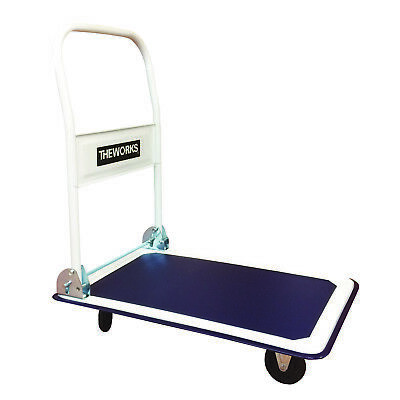 Platform Cart Folding Foldable Warehouse Moving Push Hand Truck Luggage Dolly
