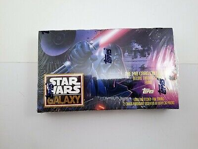 Star Wars Galaxy Series 1 1993 Trading Card Unopened Box 36 Packs By Topps
