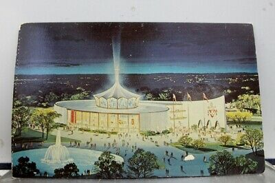 New York NY Pavilion Vatican Worlds Fair Postcard Old Vintage Card View Standard