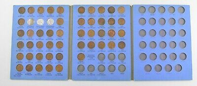 Complete 1941-58 Lincoln Wheat Cent Set - Includes 1943 Steel Cents! *035