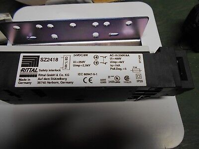 Rittal Sz2418 Gate Door Safety Electrical Interlock 24Vdc