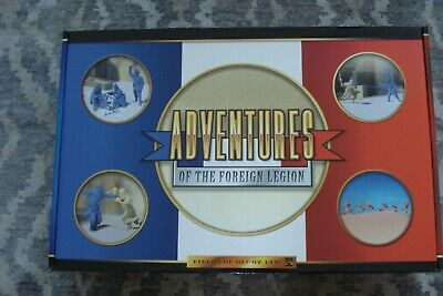 """Conte """"Adventures of the Foreign Legion"""" Playset MINT IN ORIGINAL BOX - box, fig"""