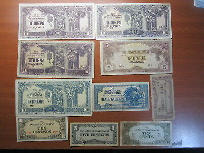 WWII Japanese invasion money bulk lot