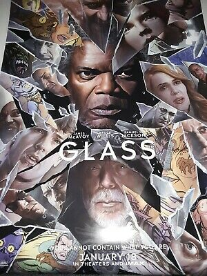 GLASS Movie Poster 27x40  Original  New. Double Sided
