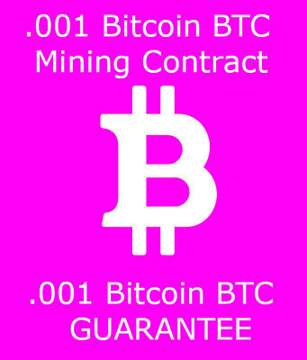 Bitcoin BTC Mining Contract 24 Hours Processing Speed TH/s 0.001 BTC Best Price