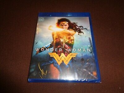 Wonder Woman * Brand New Sealed Blu Ray * 2 Hours of Bonus *