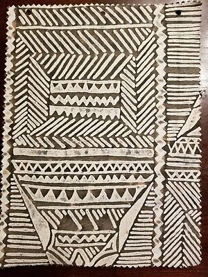 Fortuny Fabric- Mayan Black Tan and White
