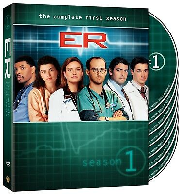 NEW  ER  TV Series Drama The Complete First 1st Season 1 7-Disc DVD Box Set 2011