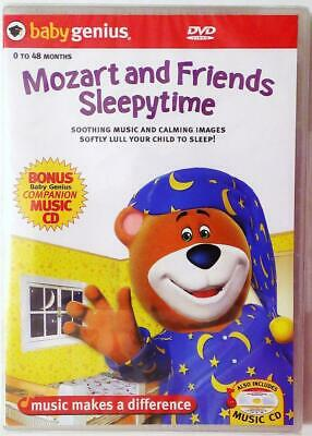 Mozart and Friends Sleepytime (Baby Genius 0-48 mo.) DVD NEW / Sealed 2005