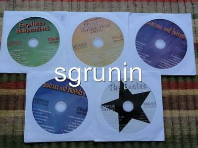5 Cdg Discs Karaoke Lot 1950's-1970's Classic Rock Oldies Hits Cd+G - Eagles