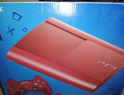 Console Sony Play Station 3 rossa 500gb limited edition ultra slim Sony ps3 ps4