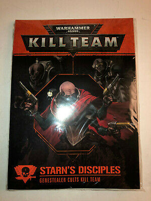 Warhammer 40000 40k Kill Team Starn's Disciples Rules & Cards sealed 21219 D