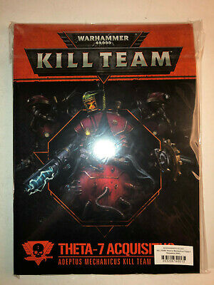 Warhammer 40000 40k Kill Team Theta-7 Acquisitus Rules & Cards sealed 21219 E