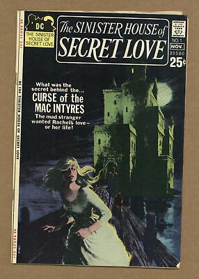 Sinister House of Secret Love #1 1971 VG+ 4.5