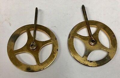Brass Pulleys For Grandfather  Longcase Vienna Clock