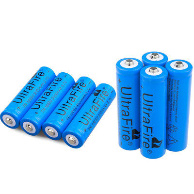 4/8pcs 3000mAh 18650 Battery 3.7v Li-ion Rechargeable Batteries For Torch Toys