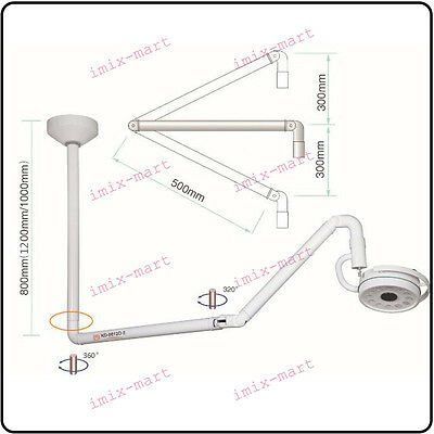 36W Ceiling Mounted LED Surgical Surgery Medical Exam Shadowless Lamp KD-2012D-2