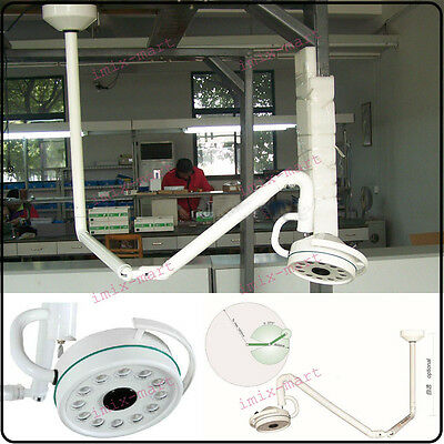36W 360 Rotation Ceiling LED Surgical Medical Exam Light Shadowless Lamp 800mm