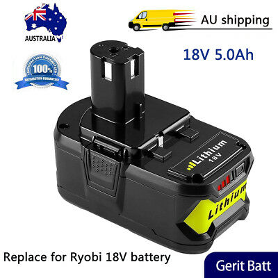 P108 5000mAh Replace for Ryobi 18V Battery Lithium One+P102 P103 P104 P105 P107