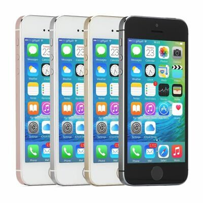 Factory Unlocked Apple iPhone SE 16GB Mobile Smartphone Grey Pink Gold Silver
