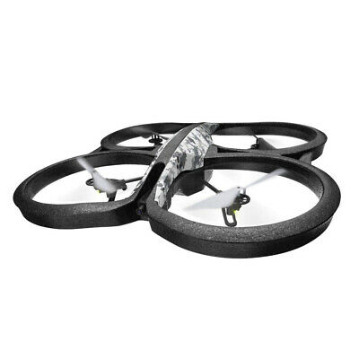 Parrot AR Drone 2.0 Elite Edition Quadcopter Snow White HD Kamera Recertified