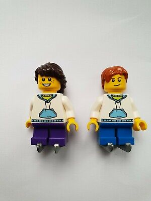 LEGO 4 NEW ICE SKATER GIRL FEMALE MINIFIGURES GYMNASTS FIGURES