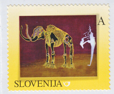 Slovenia Slowenien 2013 Mammoth Mammut ** Personalized Stamp ** Mnh
