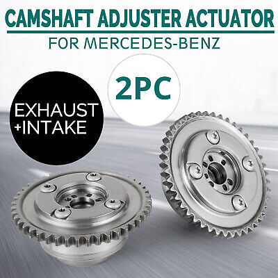 ste Camshaft Adjusters Actuators for Mercedes Benz W204 C250 SLK250 1.8 2.5L Co