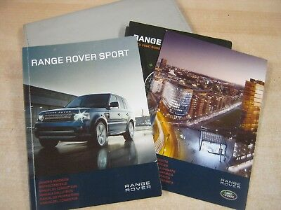 Range Rover Sport  Handbook  Owners Manual 2009-2013 And Autobiography Wallet