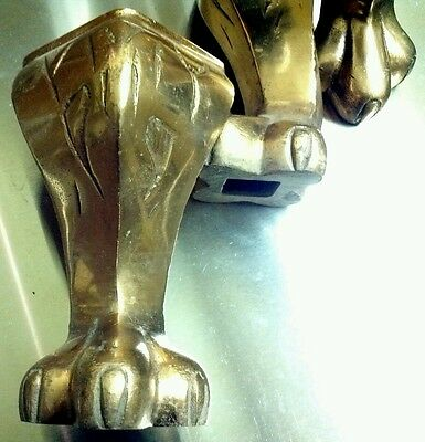 1920s-30s original ball and claw feet