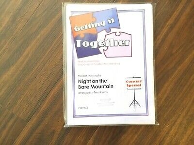 GETTING IT TOGETHER NIGHT ON THE BARE MOUNTAIN arranged Kenny.PHOENIX MUSIC